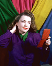 Anne Baxter Colorful Print 16X20 Canvas Giclee - $69.99
