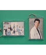 Grey's Anatomy Patrick Dempsey 2 Photo Keychain 02 - $9.95