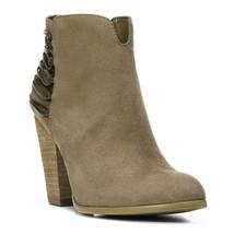 Carlos By Carlo Santana Women'S Hawkins Ankle Bootie, Charcoal Grey, Siz... - $31.78