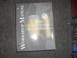 2009 Ford Crown Victoria & Mercury Grand Marquis Service Shop Repair Manual - $98.99
