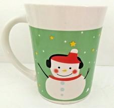 Royal Norfolk Christmas Mug Mugs Coffee Tea Cocoa Holidays Snowman Dinne... - $5.93