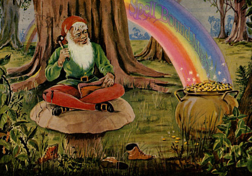 Pot of Gold Good Luck Money Prosperity Power Spell Bound Magick