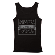 "Men's The Cure Inspired ""Always Love You"" Tribute Tank Top - €19,75 EUR+"