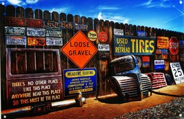 Vintage Sign Wall Metal Sign - $34.95