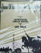 Joan of Arc They Are Calling You, 1917, Vintage Sheet Music, Bryan, Weston - $8.08