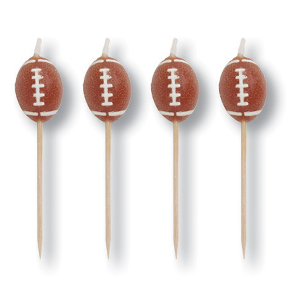"3""Candles Molded Pick Sets Team Sports/Case of 48"