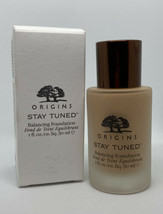 BUFFY #9 ORIGINS Stay Tuned Balancing Face Makeup foundation 1 oz NEW NI... - $39.99