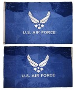 ALBATROS 3 ft x 5 ft Embroidered Air Force Wings Blue Double Sided Nylon... - $78.53