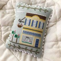 Post Office #9 Main Street Station cross stitch chart Country Cottage Needlework - $5.40