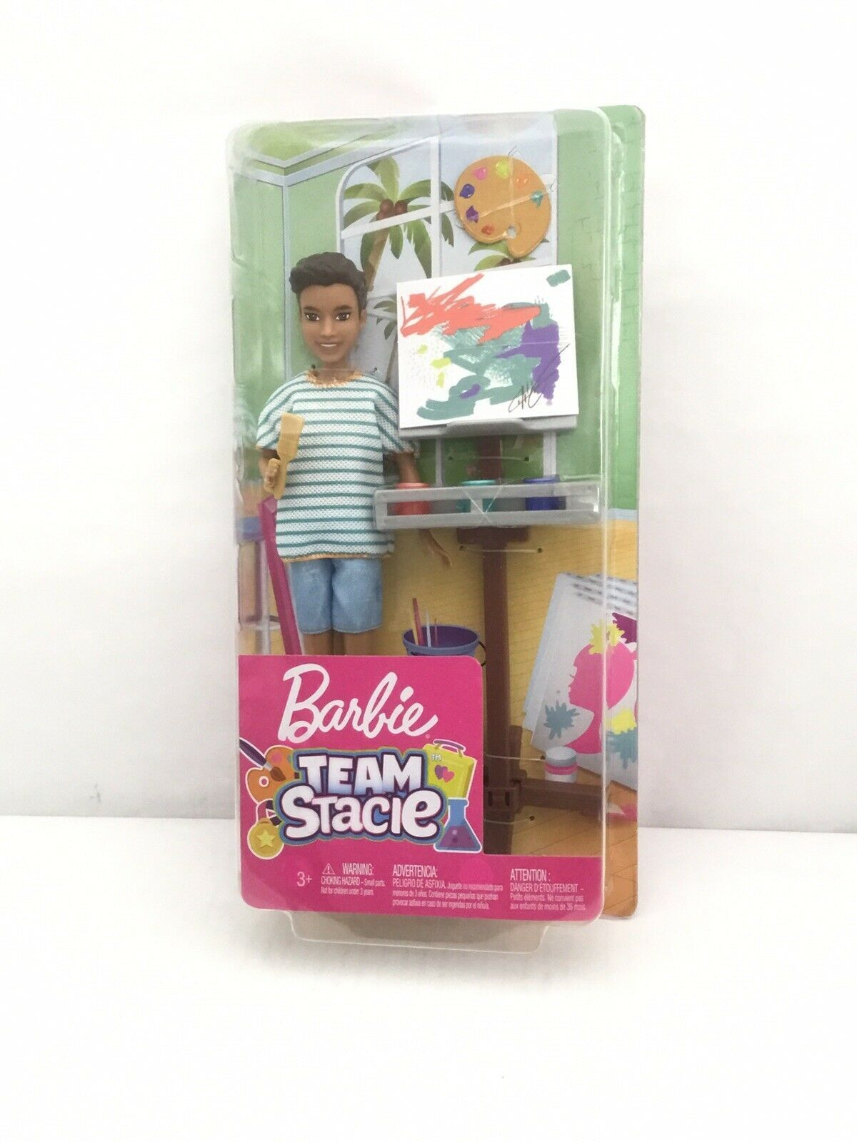 Primary image for Barbie Team Stacie Friend of Stacie Doll Art Class Playset
