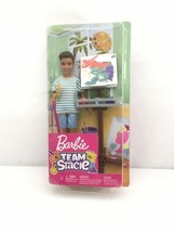 Barbie Team Stacie Friend of Stacie Doll Art Class Playset - $11.99