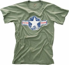 Olive Drab Army Air Corp Vintage Short Sleeve T-Shirt - $12.99+