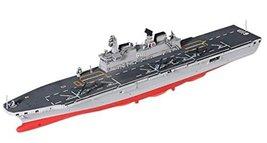 Academy Dokdo Amphibious Assault Ship LPH-6111 with Surion Plastic Model UH-60 ,