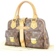Authentic LOUIS VUITTON Manhattan GM Monogram Hand Bag Purse #32950 - $529.00