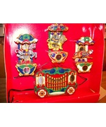 Mr. Christmas Holiday Carousel Animated Lighted... - $45.00
