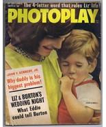 ORIGINAL Vintage October 1963 Photoplay Magazine John F Kennedy Jr & Jac... - $24.74
