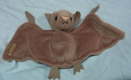 "TY Beanie Baby BROWN BATTY THE BAT 5"" Bean Bag STUFFED ANIMAL Toy 1996 - $14.85"