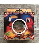 Colombia Leather Coasters Souvenir Brown (Pasavasos) Artisan Traditional - $13.13