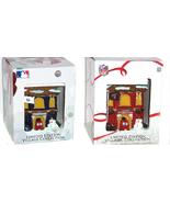 Firehouse Forever Collectibles Tampa Bay Buccaneers Rays Christmas Village - $49.95