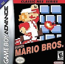 Super Mario Bros. Classic NES Series (Nintendo Game Boy Advance, 2004) C... - $21.75