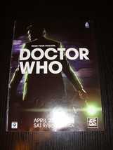Doctor Who BBC drama 1 magazine AD clipping back cover mini poster ipad2 AD - $9.50