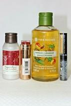 4 Piece Yves Rocher Bundle, Shower Gel, 120 Satin Lipstick, Anti-Blue Corrector - $29.69