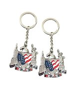 2pcs US Flag, American Eagle, Statue of Liberty, Empire State Building M... - $4.99