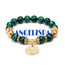 BRING ME MONEY AND SUCCESS SPELLBOUND MALACHITE BRACELET - $25.99