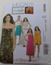 McCalls #M6081/ DIY Style/ Boho Dress & Skirt in One Cut Size 12 - $3.00