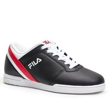 Mens Fila 14 Place Sneakers Black Lace Up 12 D Thick Sole New Athletic - $49.49