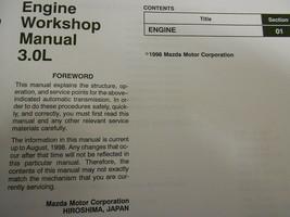 1999 Mazda B-Serie 3.0L Motor Truck Service Reparatur Shop Manuell Fabrik OEM 99 image 2