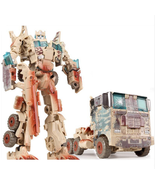 Transformation Toy Deformation Robot Cars Action Figures Brown Optimus Prime - $21.99