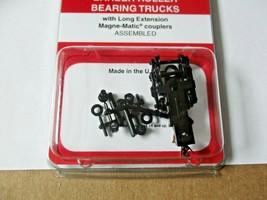 Micro-Trains Stock #00302044 Barber Roller Bearing Trucks Long Extension Coupler image 1