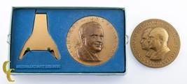 Nixon & Eisenhower/Nixon Set of 2 Inaugural Bronze Medals Medallic Art Co - $38.61