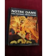 2002 Notre Dame Football Media Guide Fighting Irish Justin Tuck - $39.59