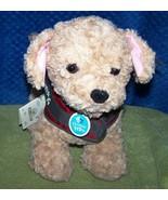 "Build a Bear Workshop Promise Pets ""Service Dog"" Labradoodle Plush 12""H NWT - $36.88"