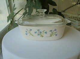 Corning Ware Blue Dusk Corelle 2 Quart Covered Casserole Dish A 2 B - $20.79