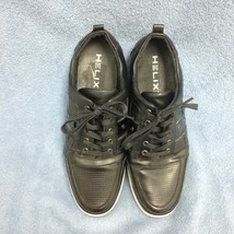 Helix Topa Men's Black Lace Up Dress Sneaker Size 11 1/2 M EUC  (S1LT) - $23.60