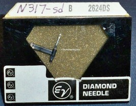 RECORD PLAYER NEEDLE EV 2624DS for N317-sd Sears 88893 for Magnavox 368-DS73 image 1