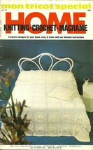 Mon Tricot Special Home Knitting Crochet Macrame Book No 6 - $6.99