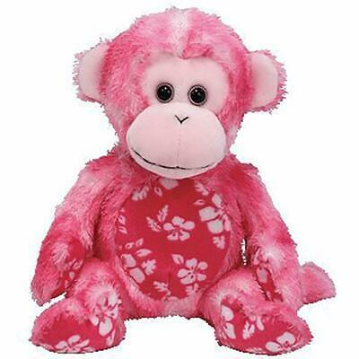 Sunset Pink Monkey Retired Ty Beanie Baby Mint Condition with Tags