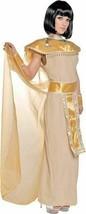 xaw647 Underwraps Egyptian CLEOPATRA Nile Goddess Halloween Costume Large - £30.30 GBP