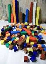 259 Pieces Unifix Colorful Plastic Snap Cubes 1... - $39.59