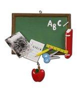 Personalized Teacher's Chalkboard Ornament Gift - $9.84