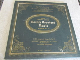 The Basic Library Of The World's Greatest Music No. 12 Record Album  - $4.49