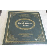 The Basic Library Of The World's Greatest Music No. 12 Record Album  - $5.00