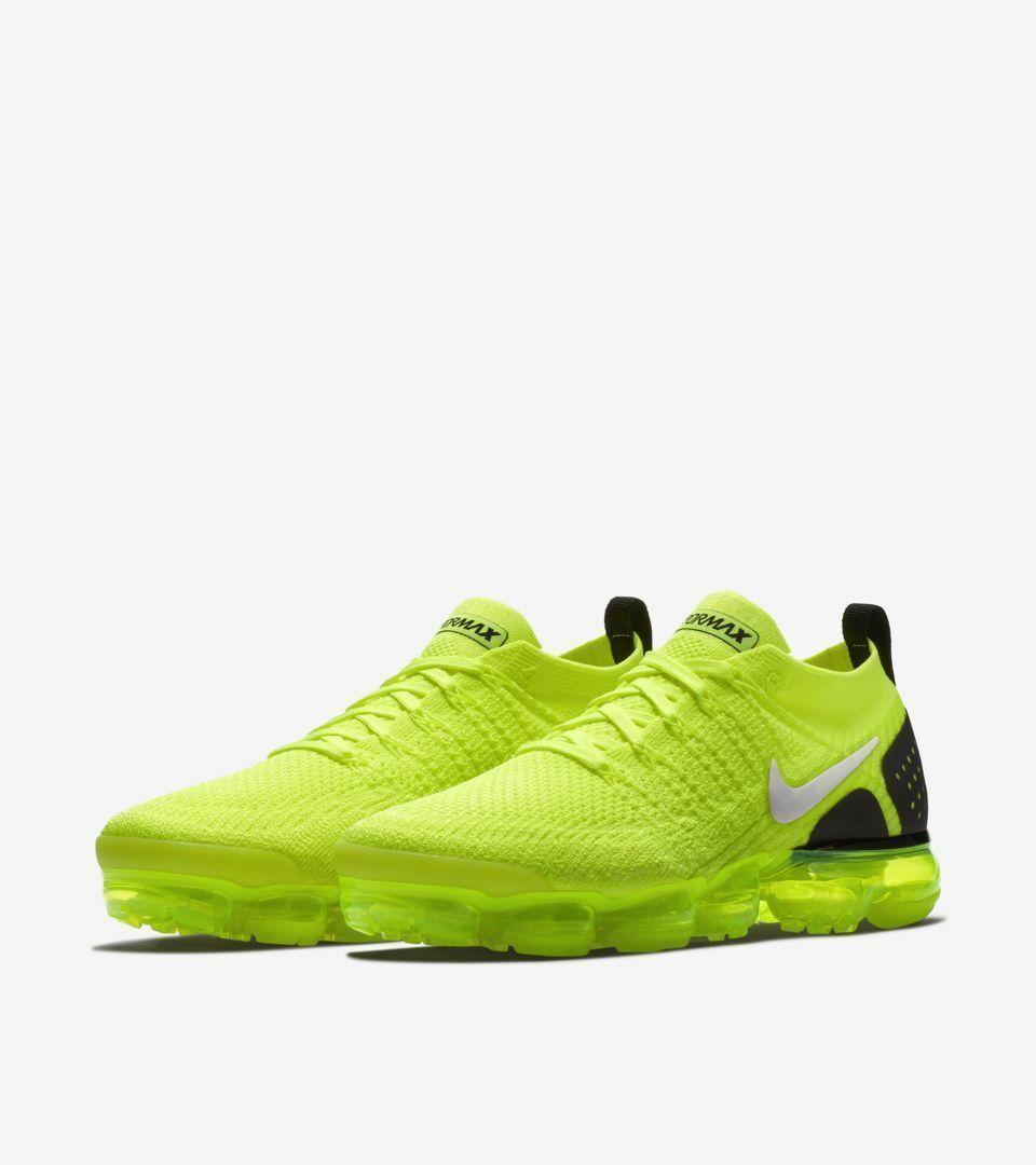Men's/Women's  Air VaporMax Flyknit 2 Volt  Sneakers Sz 8.5 mens 10.0 Womens