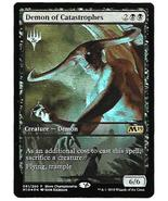 Magic The Gathering MTG Demons of Catastrophes Promo Championship Core S... - $7.95