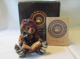 "Boyds Bears ""Edmund The Elf...Christmas Carol"" - Bearstone, 1998, Box In... - $14.99"