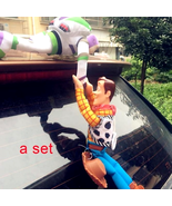 Toy Story Woody Buzz Lightyear Car Doll Plush Toy Outside Hang Auto Acce... - $8.59+